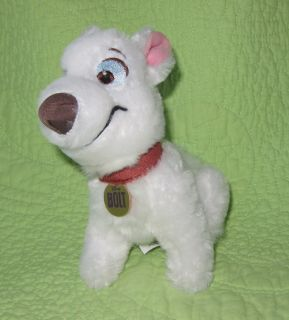 Plush Stuffed BOLT Dog Character TOY Movie Hero Soft 7 Clean Cute