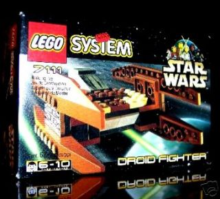 LEGO 7111 STAR WARS DROID FIGHTER  BRAND NEW MISB