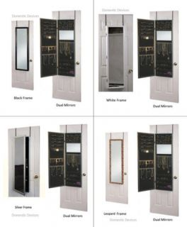 mirror jewelry armoire in Jewelry Boxes & Organizers