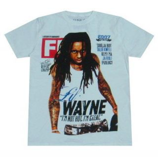 LIL WAYNE Weezy T Shirt young money rap hiphop ymcmb skateboard bboy