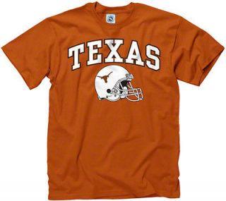 Texas Longhorns Dark Orange Football Helmet T Shirt