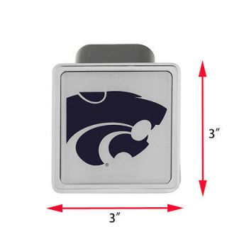 Tailgate Hitch Cover College Football Kanasa City Wildcats (Fits
