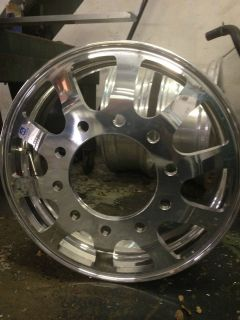 Jr Forged JF128 24 Dually Wheels Alcoa Accuride Semi