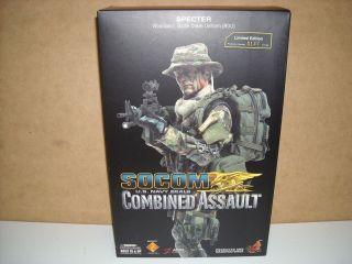 Hot Toys US Navy SEAL SOCOM Combined Assault Commander Specter