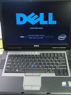 Dell Latitude D830 Intel Core 2 Duo 2.2GHz 4GB 250GB HDD DVD+/ RW