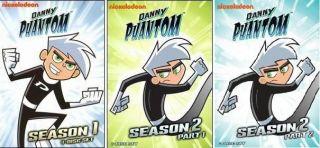 DANNY PHANTOM Complete Seasons Series 1 & 2 *New & Sealed* Animated