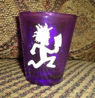 INSANE CLOWN POSSE ICP PURPLE w/ WHITE HATCHET MAN SHOT GLASS
