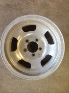 14x7 Aluminum Spoke Dish Mag Wheel 5 on 4 1/2 Ford Hot Rod