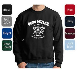 Mac Miller PREMIUM Crewneck Sweatshirt Dope Knock Wiz Swag Weezy Drake