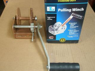 DUTTON LAINSON DL900A RATCHETING PULLING WINCH FOR BOAT OR TRAILER USA