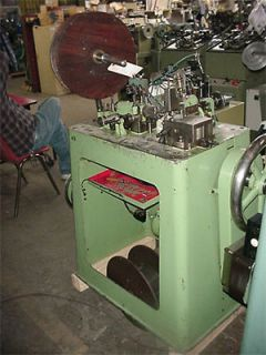 Theodore Bechtold Large Curb Fashion Chain Making Machine