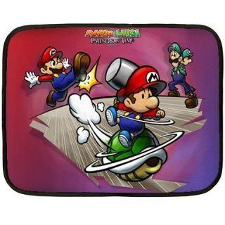 Mario Luigi Partner Mini Fleece Blanket