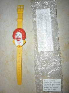 McDonalds Ronald McDonald Digital Watch Wristwatch 1990s