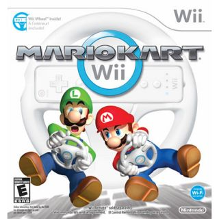 Mario Kart Wii (Game with Wii Wheel) BRAND NEW, COMPLETE, SEALED