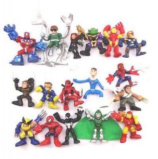 Marvel Super Hero Squad Iron man Spider man Legends universe Figure