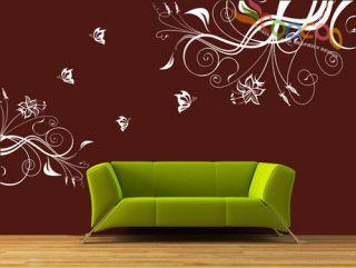 Wall Decor Art Vinyl Removable Mural Decal Sticker Butterfly With