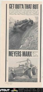 1966 Meyers Manx VW Kit Car Dune Buggy Ad