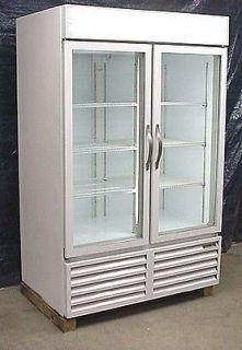 Beverage Air Two Glass Door Cooler Merchandiser
