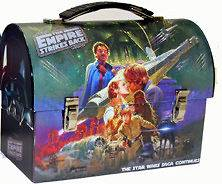 Star Wars Metal Tin Lunch Box Strikes Back Carrier Pack Cool NEW Tote