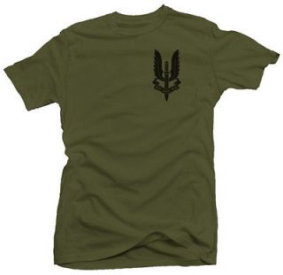 Crest UK Special Air Service Ops British UK Brit Army Mens Military