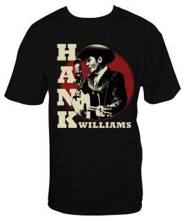 hank williams t shirts in Mens Clothing