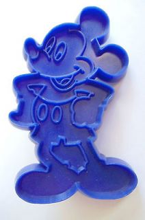 Disneys Mickey Mouse, Tupperware Cookie Cutter, Scarce/Rare