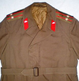 Russian Soviet Military Army Officer Uniform Cloak Cape Colonel Coat