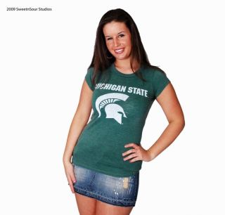 michigan state spartans in Womens Clothing