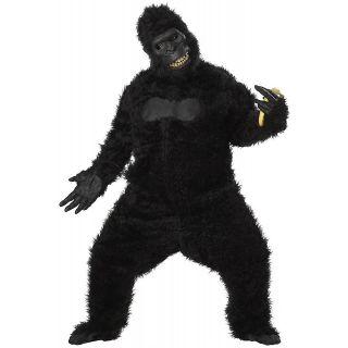 Goin Ape Adult Mens Gorilla Suit Halloween Mascot Costume