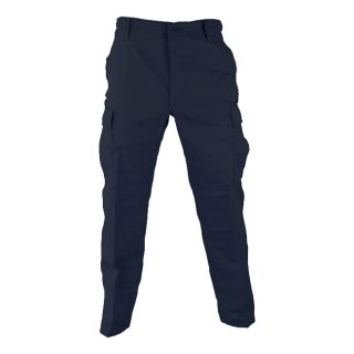 NAVY POLY COTTON TWILL BDU PANTS (clothing cargo trouser military