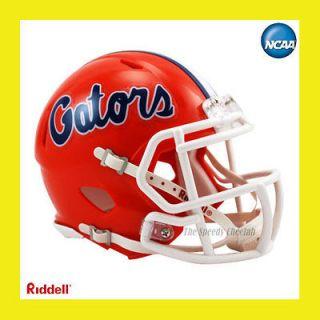 FLORIDA GATORS OFFICIAL NCAA MINI SPEED FOOTBALL HELMET by RIDDELL