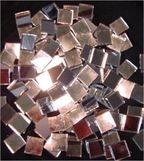 Silver Mirror Mosaic Glass Tiles   Squares, Diamonds, Border, Triangle
