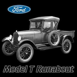 FORD MODEL T RUNABOUT T SHIRT GIFT AUTO CARS NOVELTY LD
