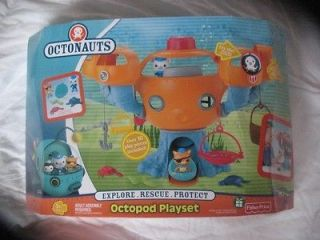 Octonauts Octopod Playset 3 DAY AUCTION BNIB NEW FAST SHIPPING ~~~