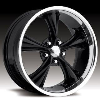 Boss Motorsports style 338 wheels rims, 20x8.5, 5x5, +14mm, black