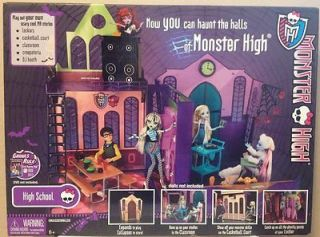 Monster High School House Playset Dolls NEW ~ Fast Shipping ~