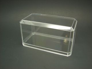 Acrylic Display Cases (4) 164 Scale for Model Cars Trucks Hot Wheels