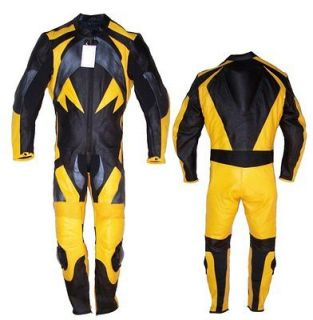 Custom Made Fit Leather Motorcycle Racing Suit #2059 New