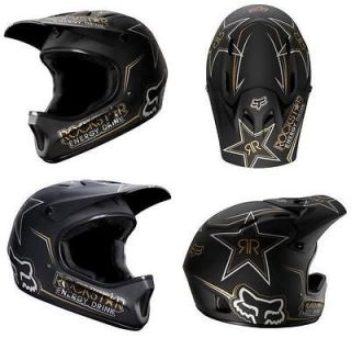 2012 Fox Rockstar Rampage DH MTB Helmet Cycle Mountain Bike Full Face