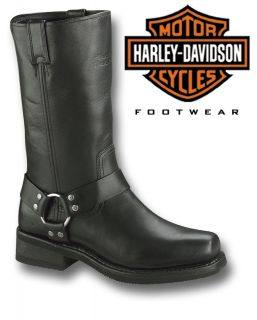 HARLEY DAVIDSON FOOTWEAR HUSTIN MOTORCYCLE BOOTS