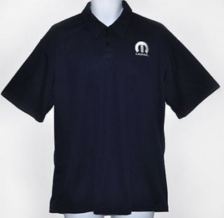 Mopar Motor Sports Polo Golf Shirt Navy Blue Sz.XL NEW