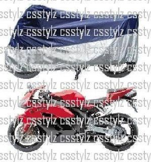 Motorcycle Cover Navy / Silver Moto Guzzi V11 w/Unique Features