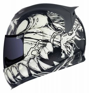 Icon Airframe Artist Series Manic Full Face Motorcycle Helmet
