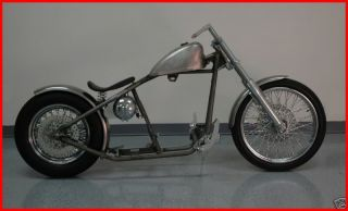 FATBOY HERITAGE DELUXE RIGID FRAME BOBBER CHOPPER ROLLING CHASSIS