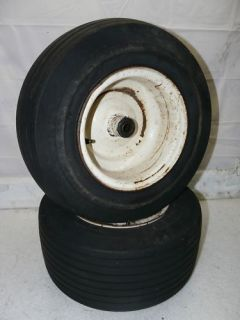 Case 224 Tractor Riding Lawn Mower Front Rim/Tire
