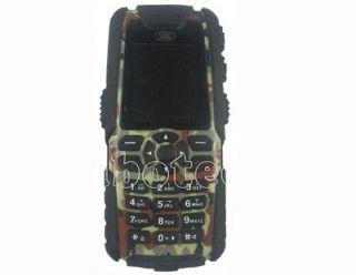 New camouflage Unbreakable JAVA /4 Waterproof Sport Mobile Phone