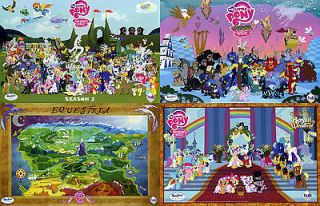 My Little Pony Friendship is Magic MLPFiM Season 2 Posters Set of