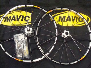 Mavic crossmax SLR 6 bolt disc mountain bike bicycle wheel wheelset