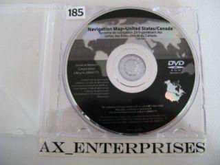 2007 2008 Escalade EXT & ESV Navigation DVD Map 771 #8.3 Rel 9/ 2009