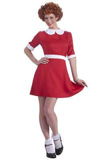 Annie the Musical LICENSED Adult Womens Halloween Costume Fancy Dress